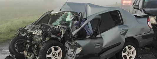 Fatal accidente en la ruta 205
